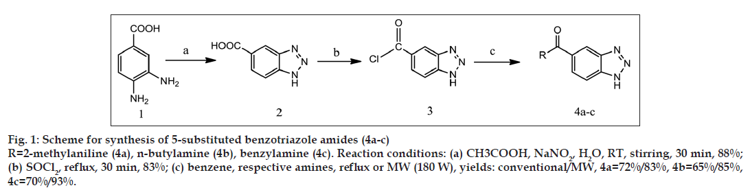 Benzotriazole Derivatives | Conventional Synthesis | Microwave