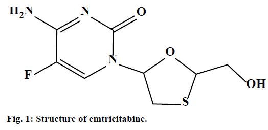 IJPS-Structure-emtricitabine